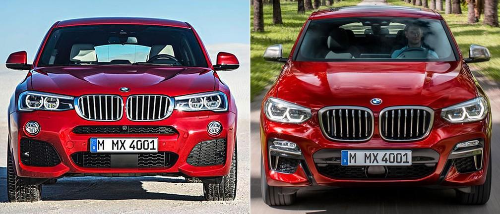 Na esquerda, a 1ª geração do X4, e na direita, a próxima geração (Foto: Divulgação)