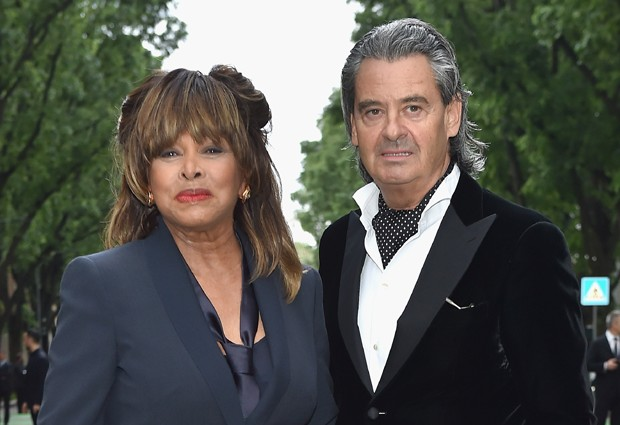 Tina Turner e o marido, Erwin Bach (Foto: Getty Images)
