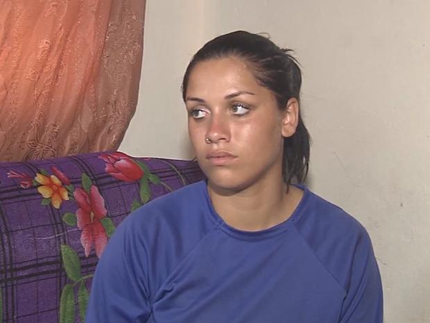 Vítima diz que está com medo (Foto: Reprodução/TV TEM)