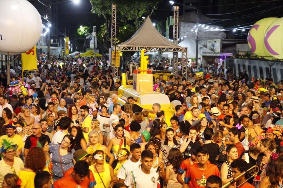 Bloco do Submarino Amarelo promove seu primeiro ensaio aberto de 2020 na próxima quinta-feira (30)  — Foto: Divulgação