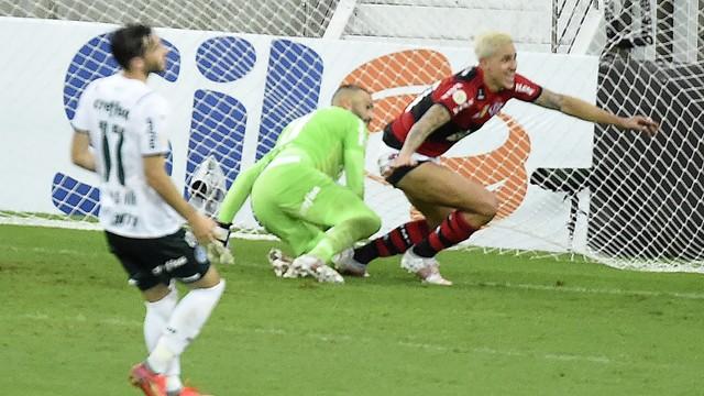 Gol de Pedro, Flamengo x Palmeiras