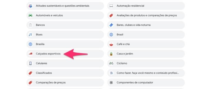 Ação para retirar termos de pesquisas da lista de gerenciamento para anúncios em uma conta do Google (Foto: Reprodução/Marvin Costa)