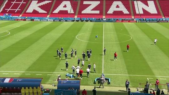 Jogo de Kazam vai reunir a França,com sua geração de grandes jogadores, e a Austrália
