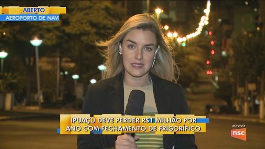 Frigorífico anuncia fechamento em Ipuaçu e demite mais de 600 funcionários