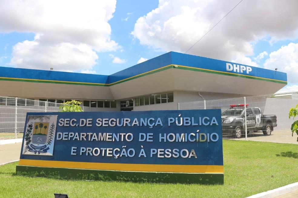 Caso foi encaminhado para o Departamento de Homicídios e Proteção à Pessoa, em Teresina. (Foto: Andrê Nascimento/ G1 PI)