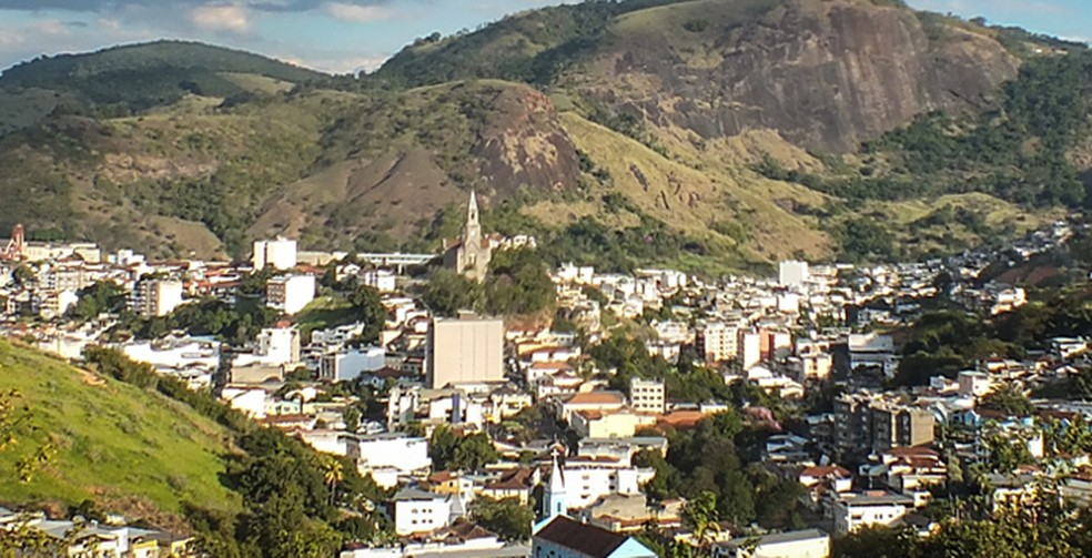 Cidade de Leopoldina — Foto: Prefeitura de Leopoldina/Divulgação