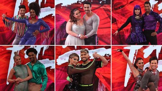 'Dança dos Famosos': veja a estreia das mulheres no palco do 'Domingão'