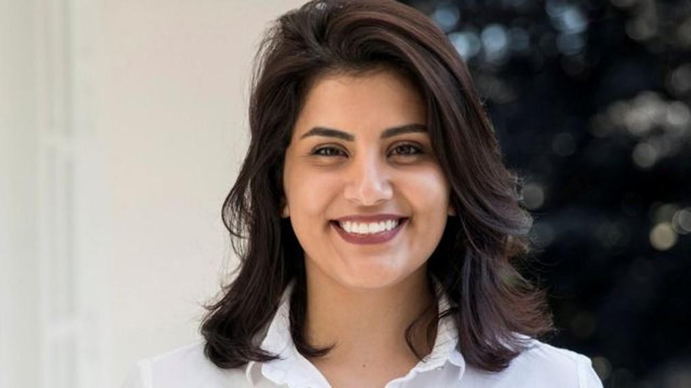 Loujain al-Hathloul foi presa em 2018 — Foto: Reuters