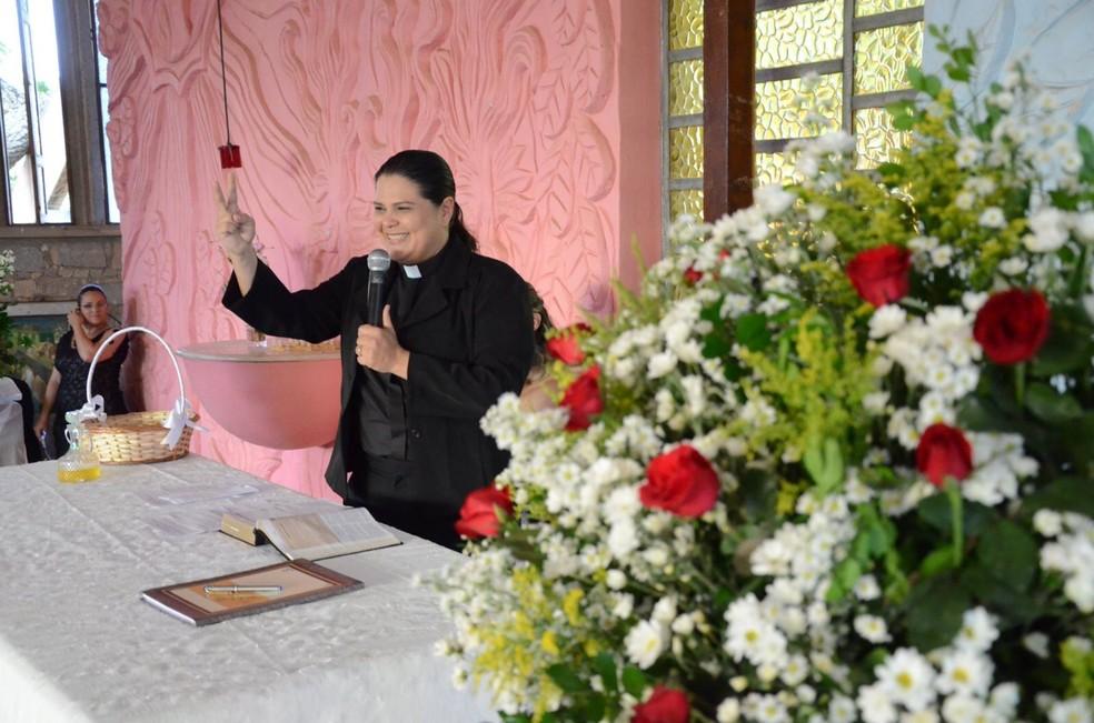 Pastora Daniela Modesto é advogada e integrante da Comissão da Diversidade Sexual da OAB/RN (Foto: Divulgação )