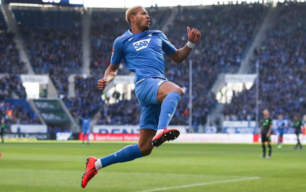 Joelinton é um dos destaques do Hoffenheim — Foto: Getty Images/AFP