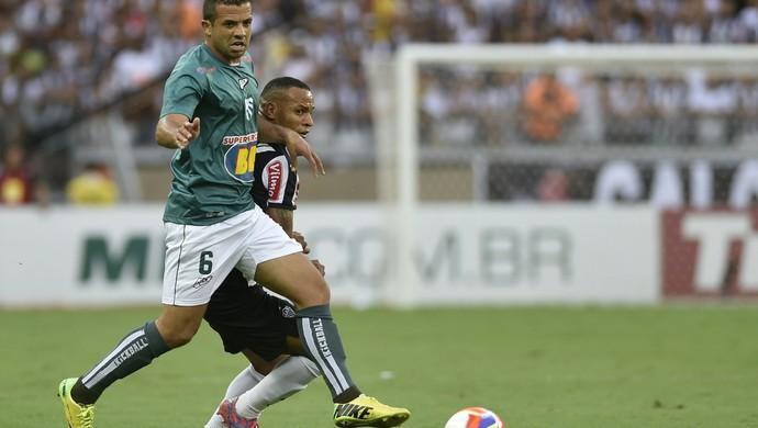 Atlético-MG x Caldense, Campeonato Mineiro, Mineirão, Patric (Foto: Douglas Magno)