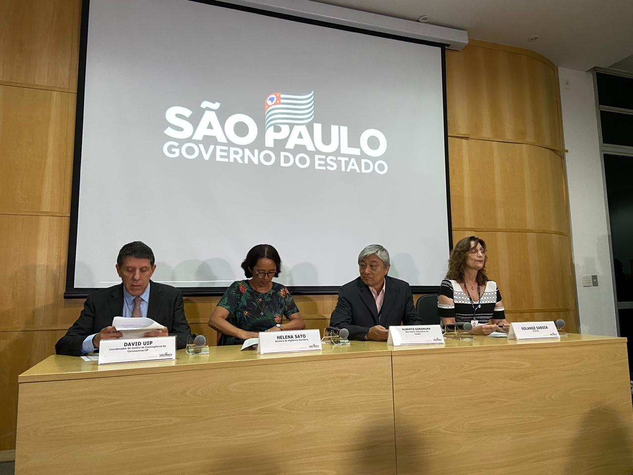 Governo de SP cria centro de contingência para monitorar casos suspeitos de coronavírus