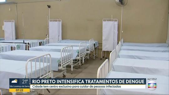 Paciente com dengue irá para centro de hidratação com indicação médica, diz secretário
