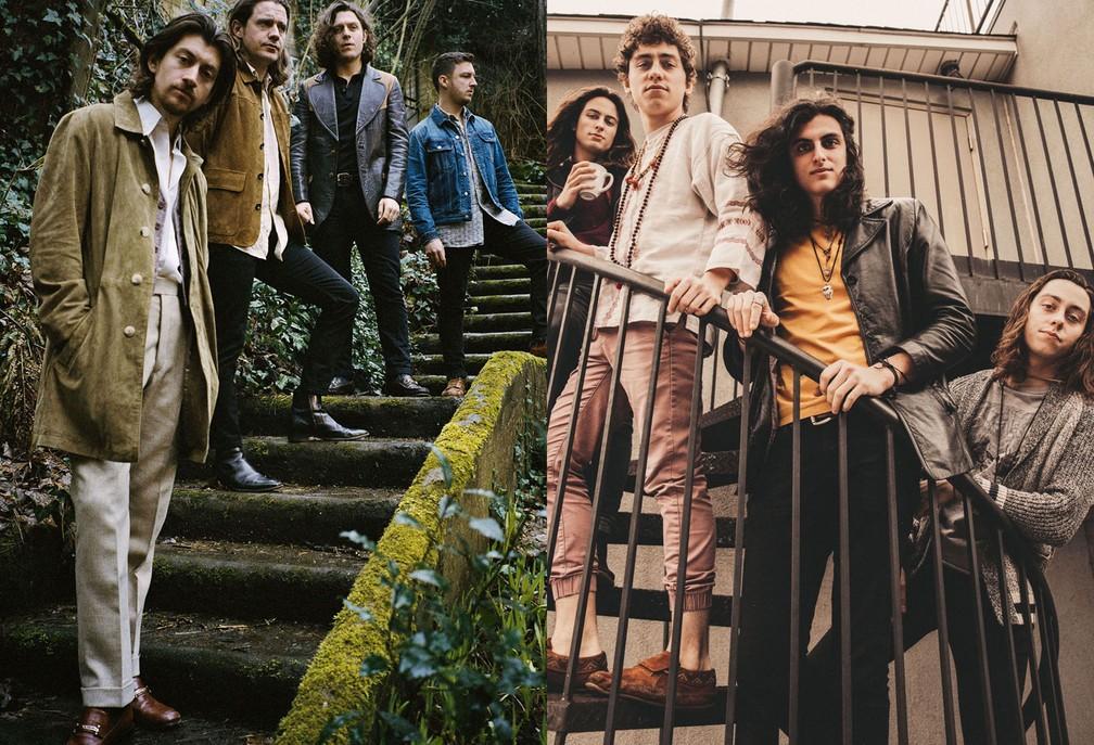 Arctic Monkeys e Greta Van Fleet são os shows mais ...
