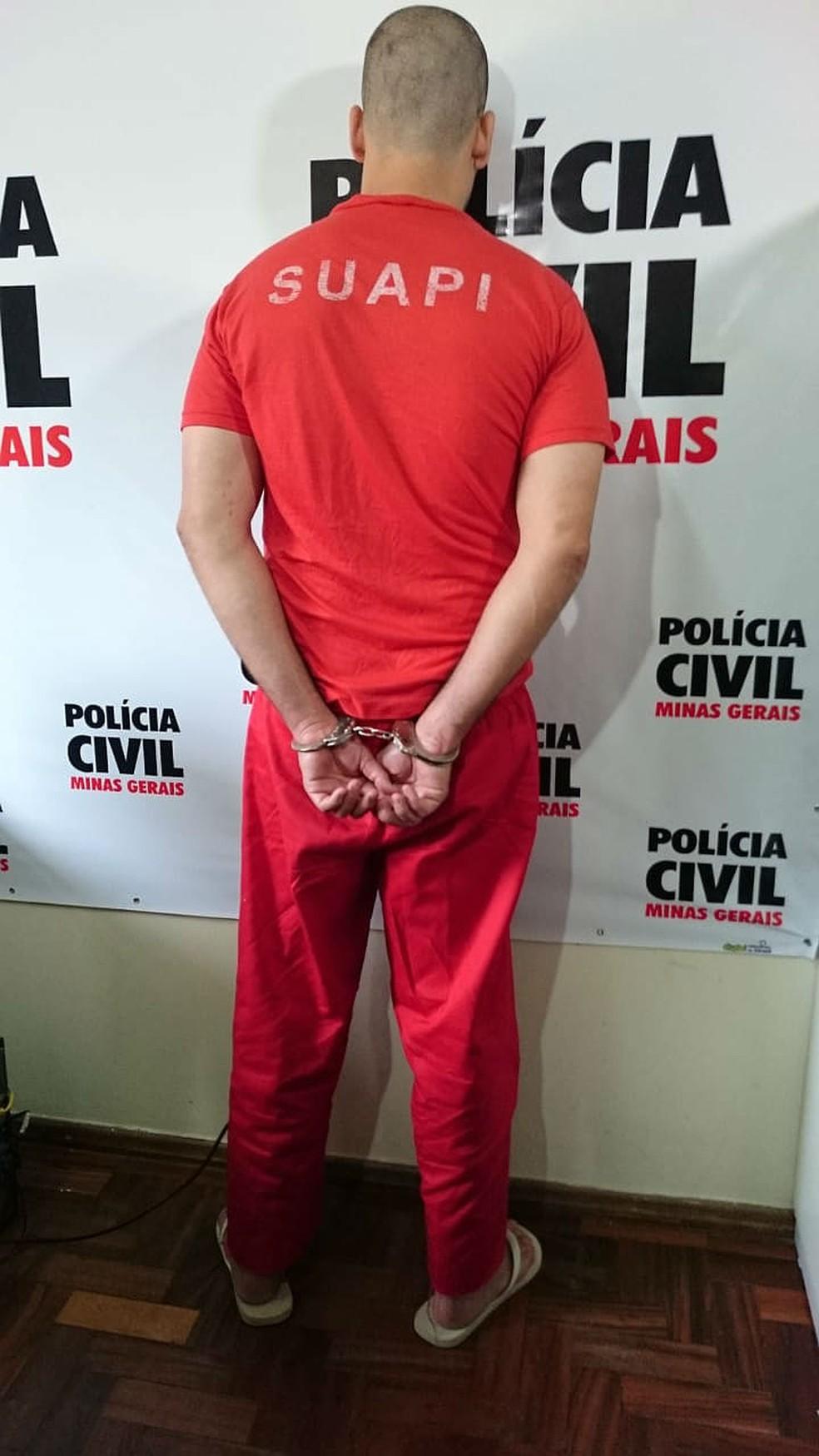 -  Homem foi denunciado à Justiça pelo MP pelo feminicídio da esposa em Juiz de Fora nesta sexta-feira  13   Foto: Polícia Civil/Divulgação