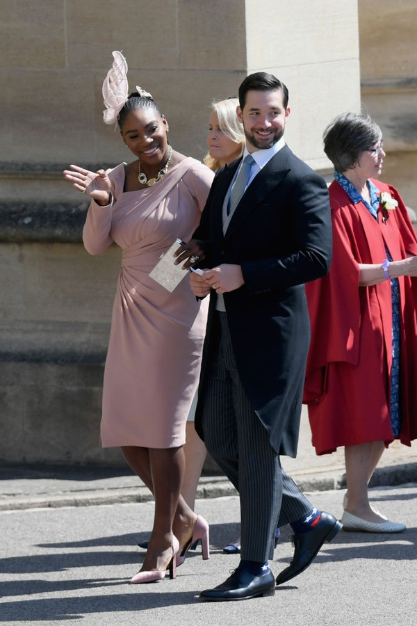 Serena Williams e Alexis Ohanian (Foto: Getty Images)