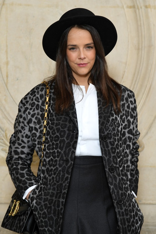 PARIS, FRANCE - FEBRUARY 27:  Pauline Ducruet attends the Christian Dior show as part of the Paris Fashion Week Womenswear Fall/Winter 2018/2019 on February 27, 2018 in Paris, France.  (Photo by Pascal Le Segretain/Getty Images for Christian Dior) (Foto: Getty Images for Christian Dior)