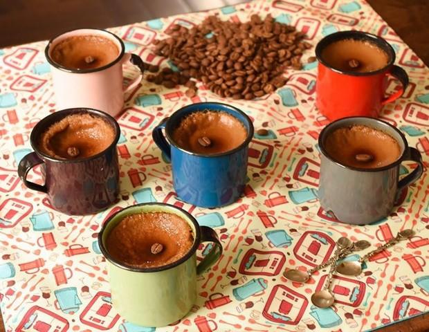 Potinho cremoso de café com leite da Helô Bacellar, do Lá da Venda (Foto: Divulgação/ Ana Bacellar)