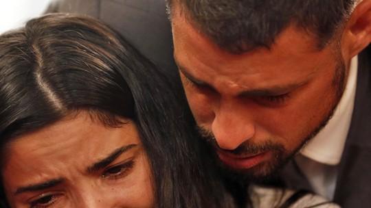 Casamento de Tóia e Juliano termina em tragédia
