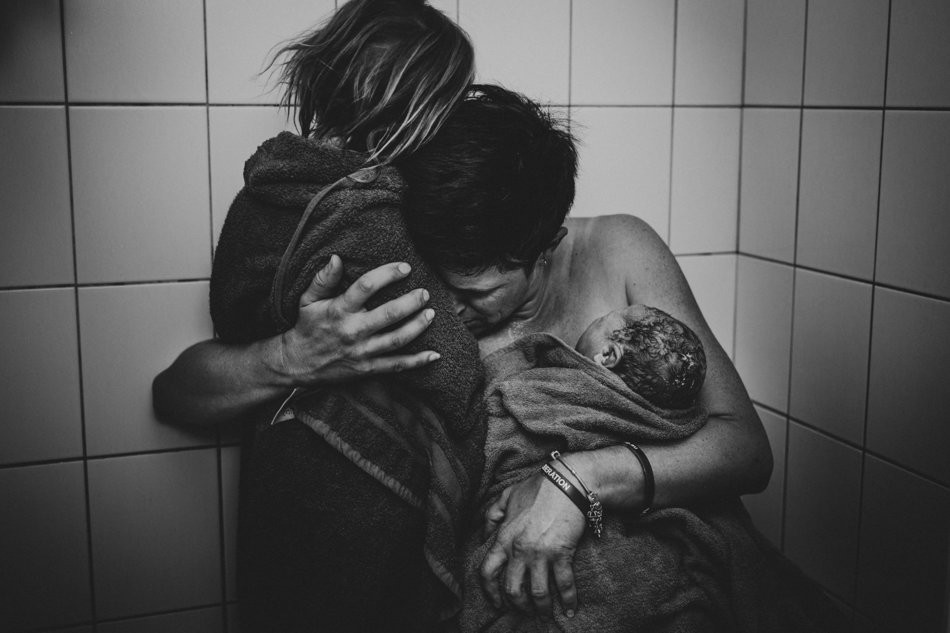 Foto premiada pelo concurso Birth Becomes Her  (Foto: Sashi Hesson, Photographer)