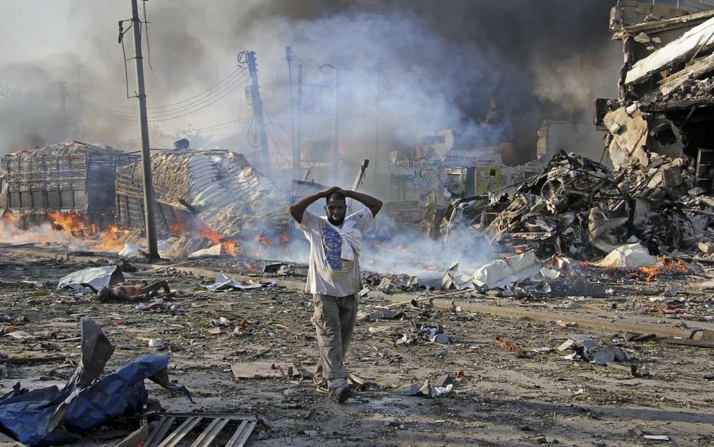 Atentado é considerado o pior da história do país (Foto: Associated PressAP)