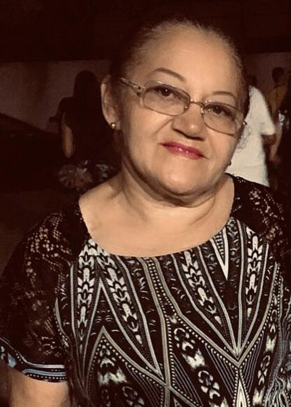 Nina também era professora — Foto: Arquivo familiar/Cedida