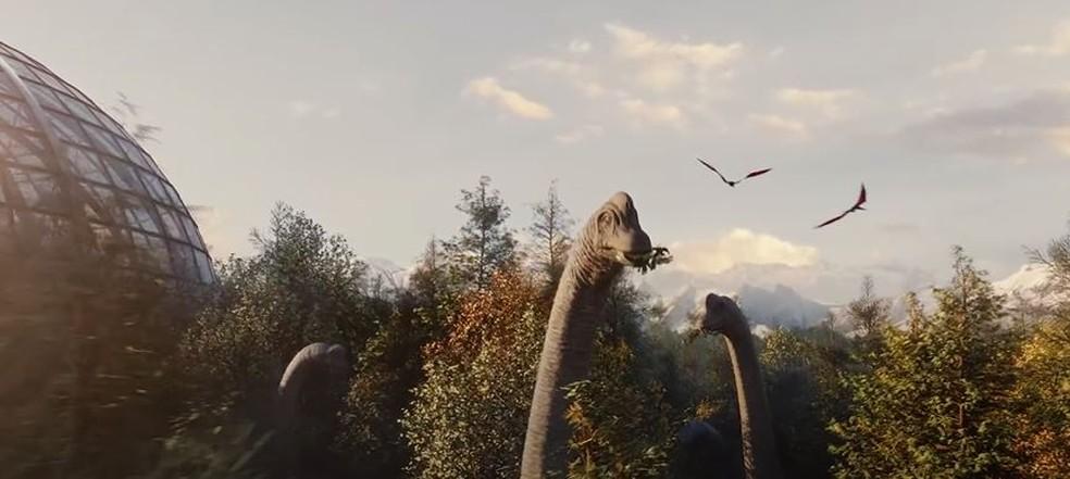Jurassic World Evolution 2 é apresentado — Foto: Reprodução/Summer Game Fest 2021