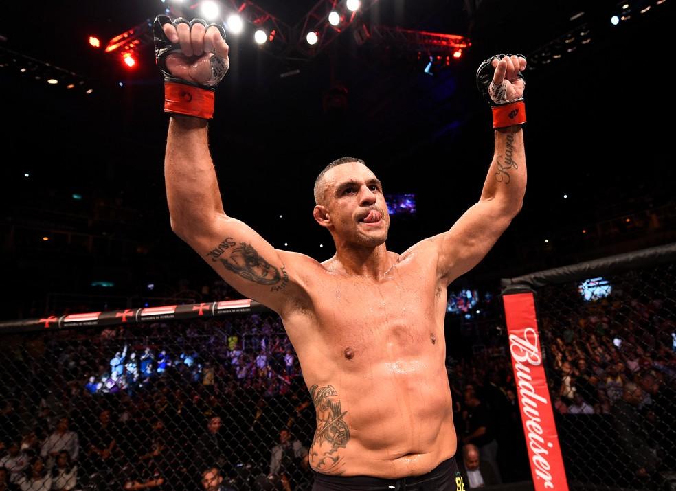 Vitor Belfort  vem de vitória no UFC contra Nate Marquardt, em junho do ano passado, no RIo (Foto: André Durão)