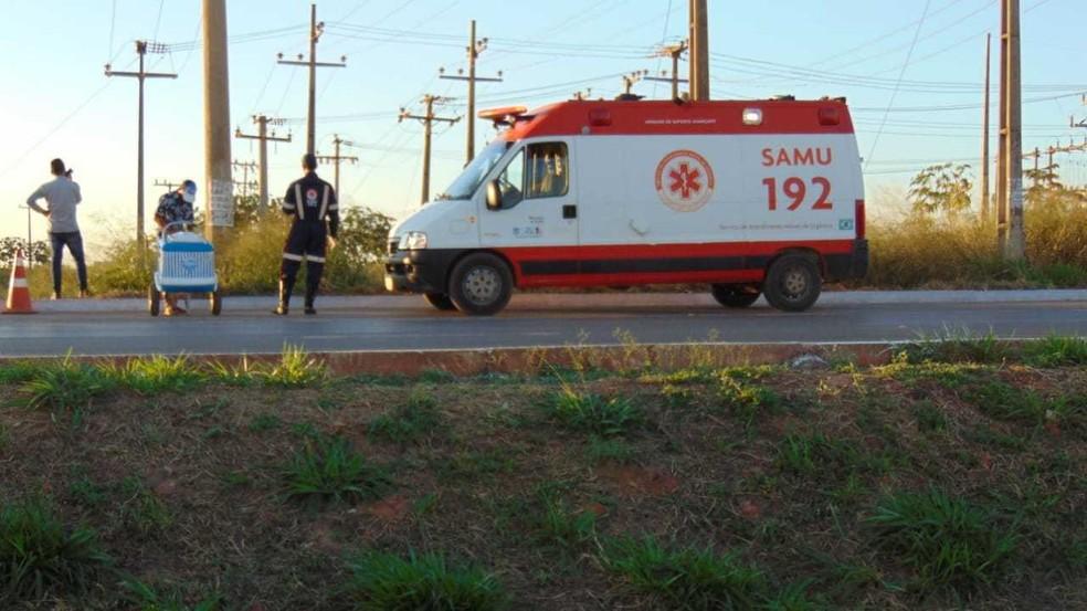 O Serviço de Atendimento Móvel de Urgência (Samu) foi até o local, mas Jovenildo não resistiu aos ferimentos. — Foto: Blog do Braga