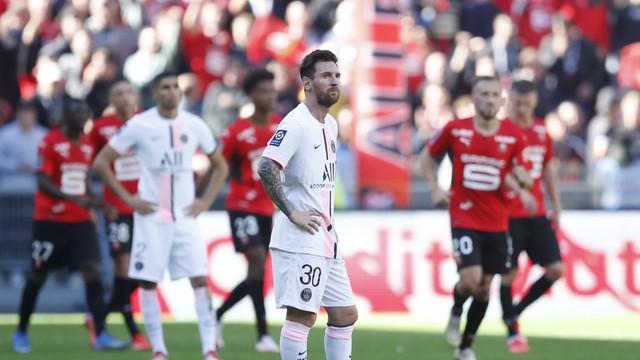 PSG de Messi perdeu pela primeira vez na Ligue 1 nesta temporada