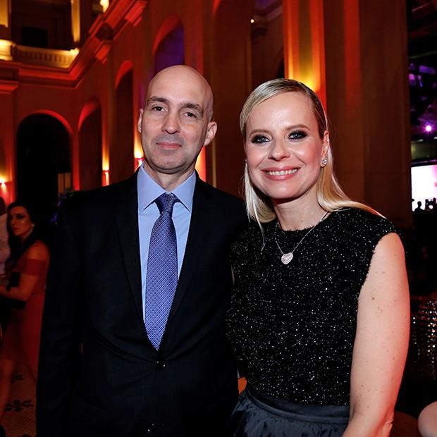 Luiz Carlos e Paula Martins (Foto: Denise Andrade e David Mazzo/ Divulgação)