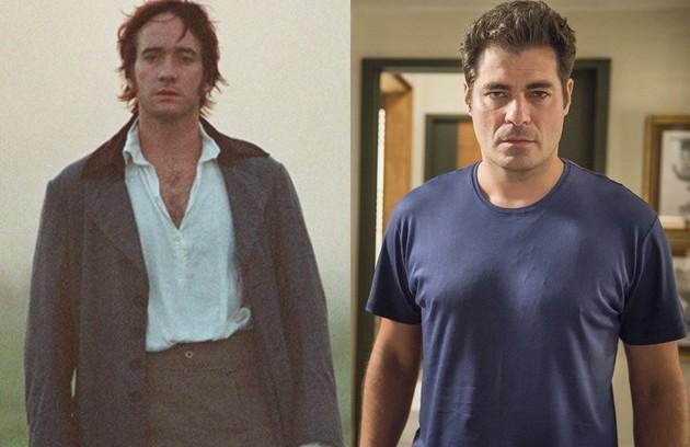 Thiago Lacerda viverá Darcy, par de Elizabeta. Em 'Orgulho e preconceito', o papel coube a Matthew Macfadyen (Foto: Reprodução)