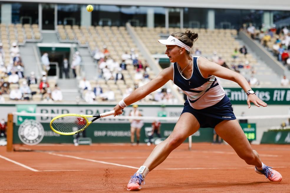 Krejcikova vence seu primeiro Grand Slam em Roland-Garros — Foto: Frank Molter/picture alliance via Getty Images
