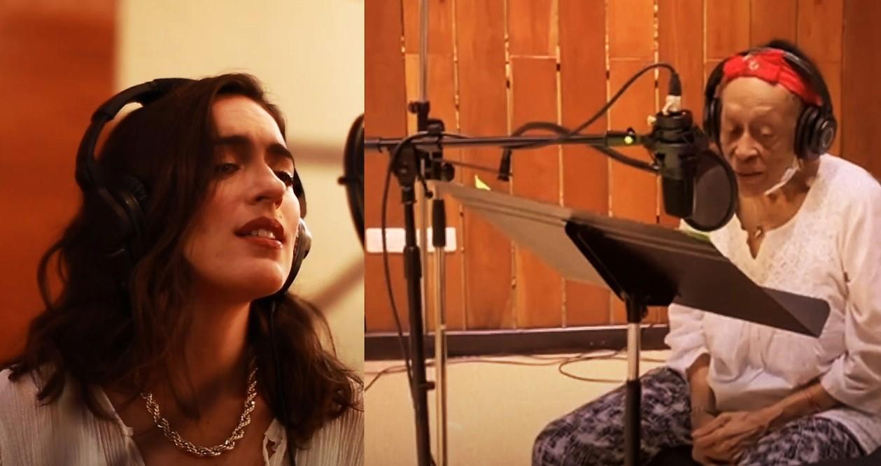 Anna Setton canta 'Nocturno antillano' com Omara Portuondo no álbum 'Onde mora meu coração'