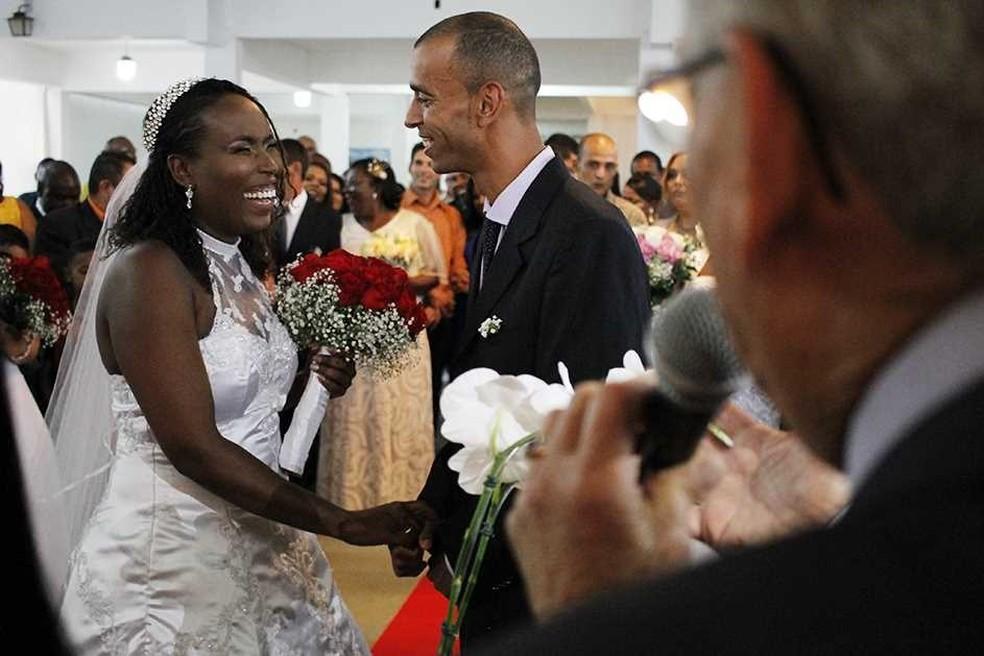 O casamento será realizado no dia 29 de novembro, no Centro de Convivência do Idoso Amadeu José de Macedo. — Foto: Prefeitura/Divulgação
