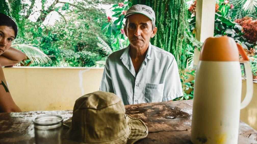 Tristeza no rosto de moradores da região de Brumadinho, MG — Foto: Lucas Sandonato