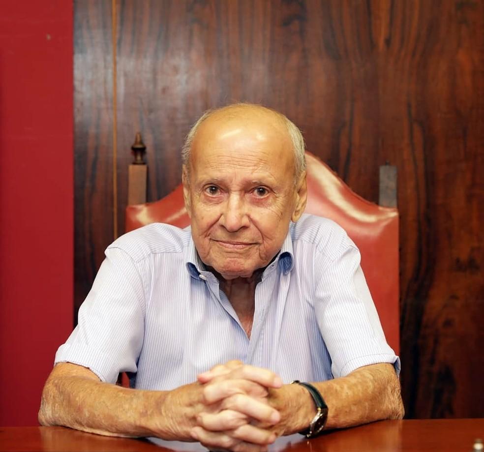 Luiz Ferreira Martins teve papel fundamental na criação do Centrinho da USP em Bauru — Foto: Luis Ricardo Marcondes Martins/Arquivo pessoal
