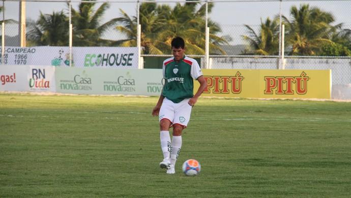 Goeber em ação pelo Alecrim (Foto: Canindé Pereira/Divulgação)