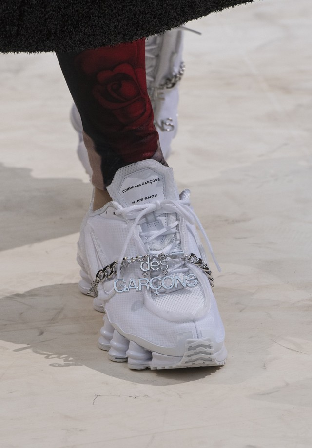 O Nike Shox da Comme des Garçons (Foto: Imaxtree)