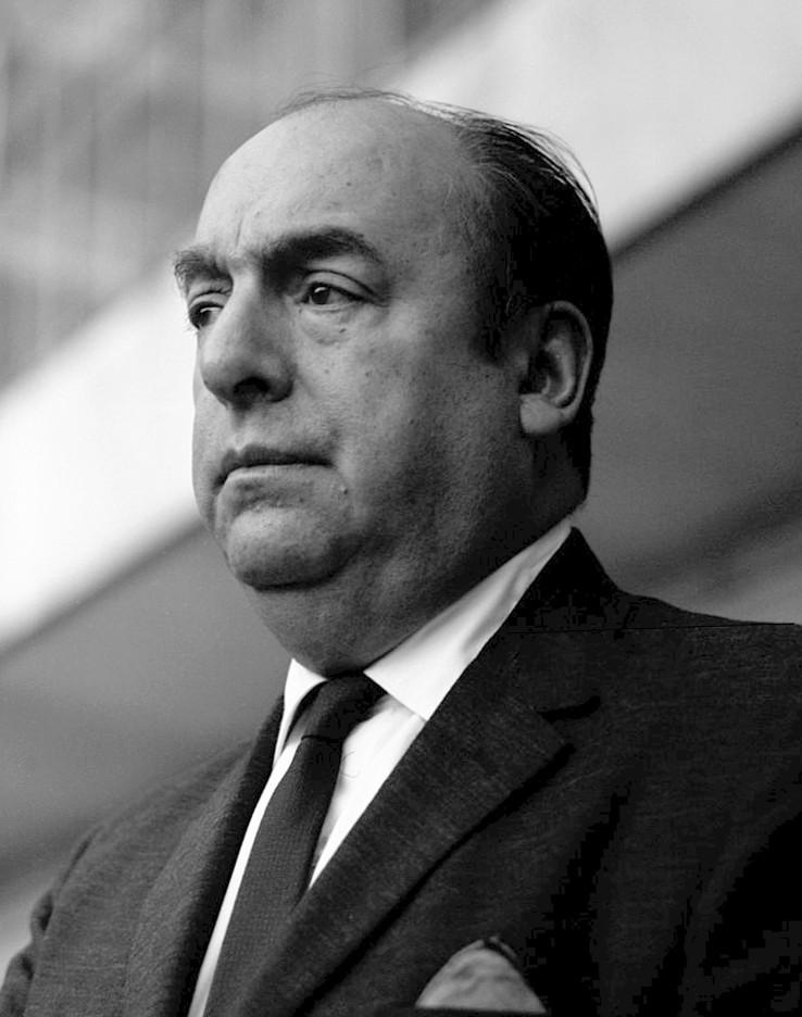 O chileno Pablo Neruda (Foto: Wikimedia Commons)