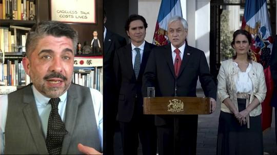 Em meio a protestos, presidente do Chile oficializa aumento do salário mínimo