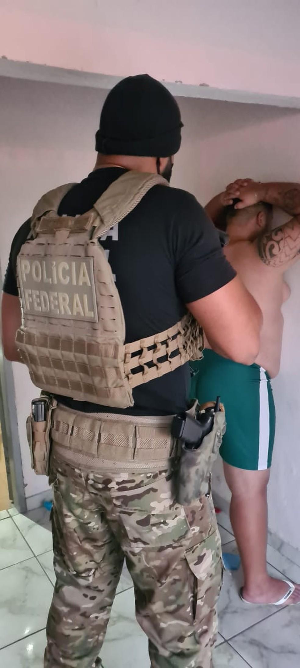 Organização criminosa suspeita de financiar candidatos políticos é alvo de uma operação da Polícia Federal nesta quarta-feira (11) em Barra do Garças — Foto: Polícia Federal de Mato Grosso