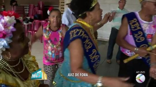 'Fogo & Paixão' e 'Recordar é viver' são os destaques do carnaval nesta quinta em Juiz de Fora