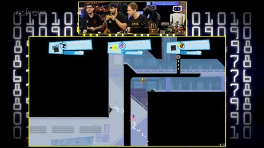 Assista ao gameplay estendido de 'Speedrunners' com Felipe 'brTT', Leonardo 'Robo' e Tiago Leifert no 'Zero1'
