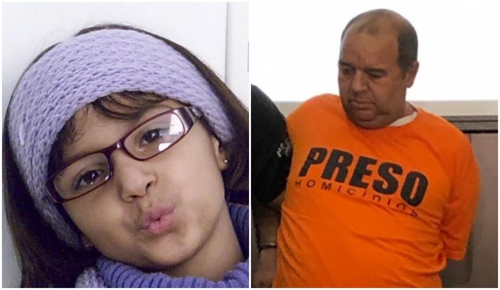 Carlos Eduardo dos Santos foi condenado pela morte da menina Rachel Genofre — Foto: Reprodução / RPC