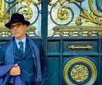 Rodrigo Lombardi em Buenos Aires como Guimarães Rosa | Reprodução/Instagram