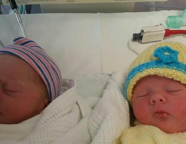 gêmeas de Beth (Foto: Divulgação)
