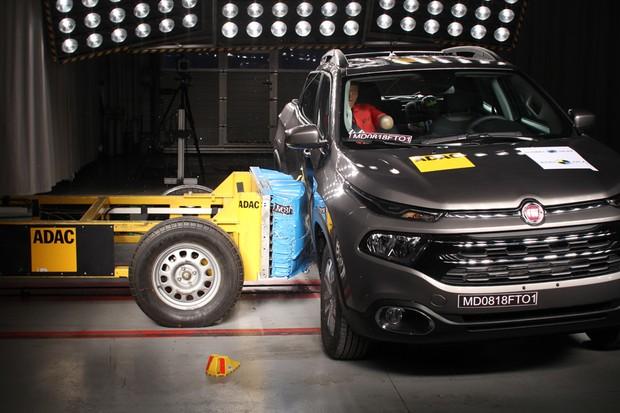 Fiat Toro - Latin NCAP (Foto: Divulgação)