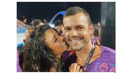Talita Younan e João Gomez no carnaval Reprodução/Instagram