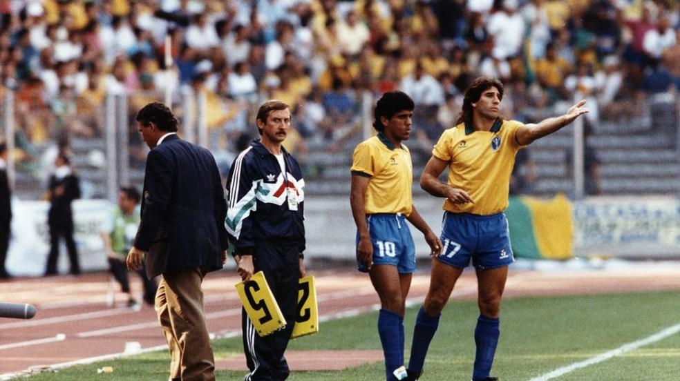 Renato, na Copa de 1990 (Foto: Divulgação / CBF)